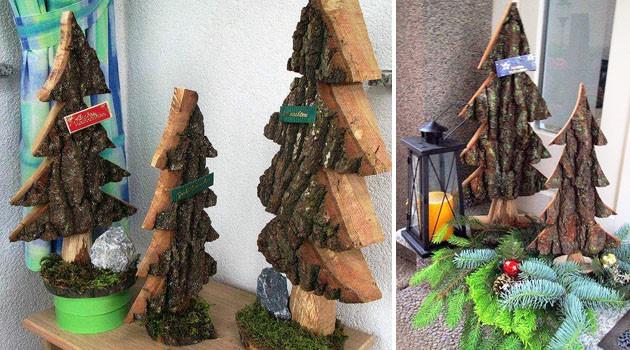 weihnachtsb ume holzhandwerk laa otto holemar. Black Bedroom Furniture Sets. Home Design Ideas